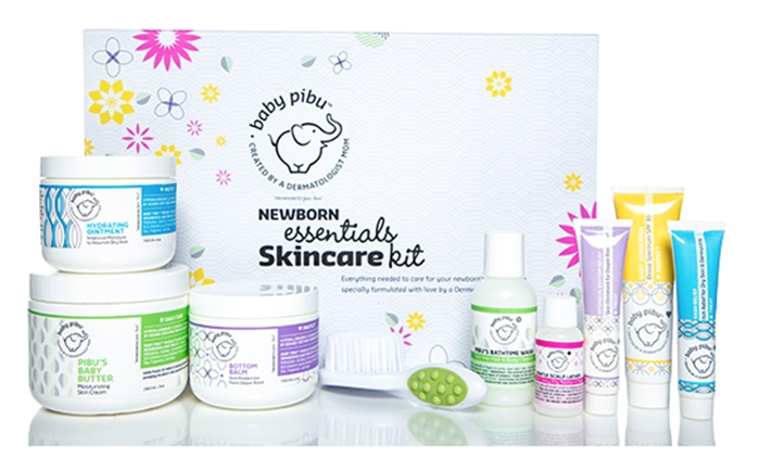 Baby Pibu Newborn Essentials Skincare Kit