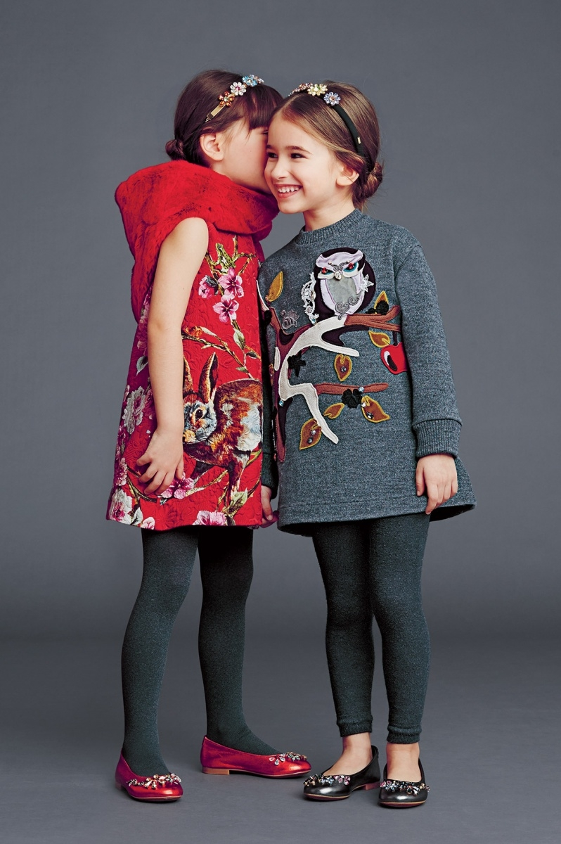 Kids And Teens Miss World The Most Beautiful Woman In The: WOW Dolce & Gabbana Kids Fall Winter 2014 2015 Best Looks