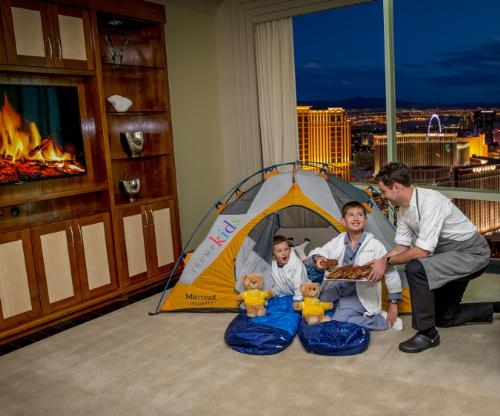 Glamping For Trump Kids