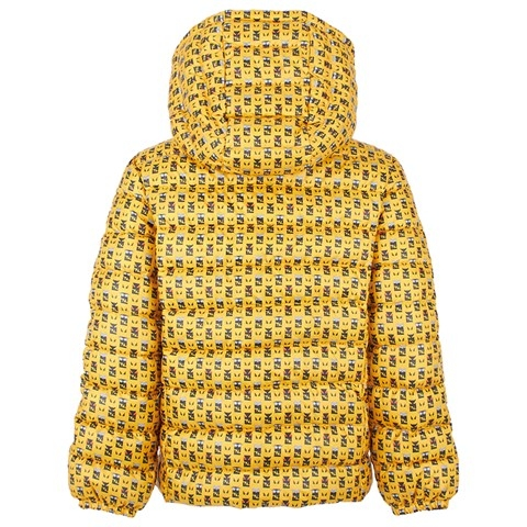 Girls Fashion, Girls Fashion Fendi Yellow Owl Print Puffa Coat #Style
