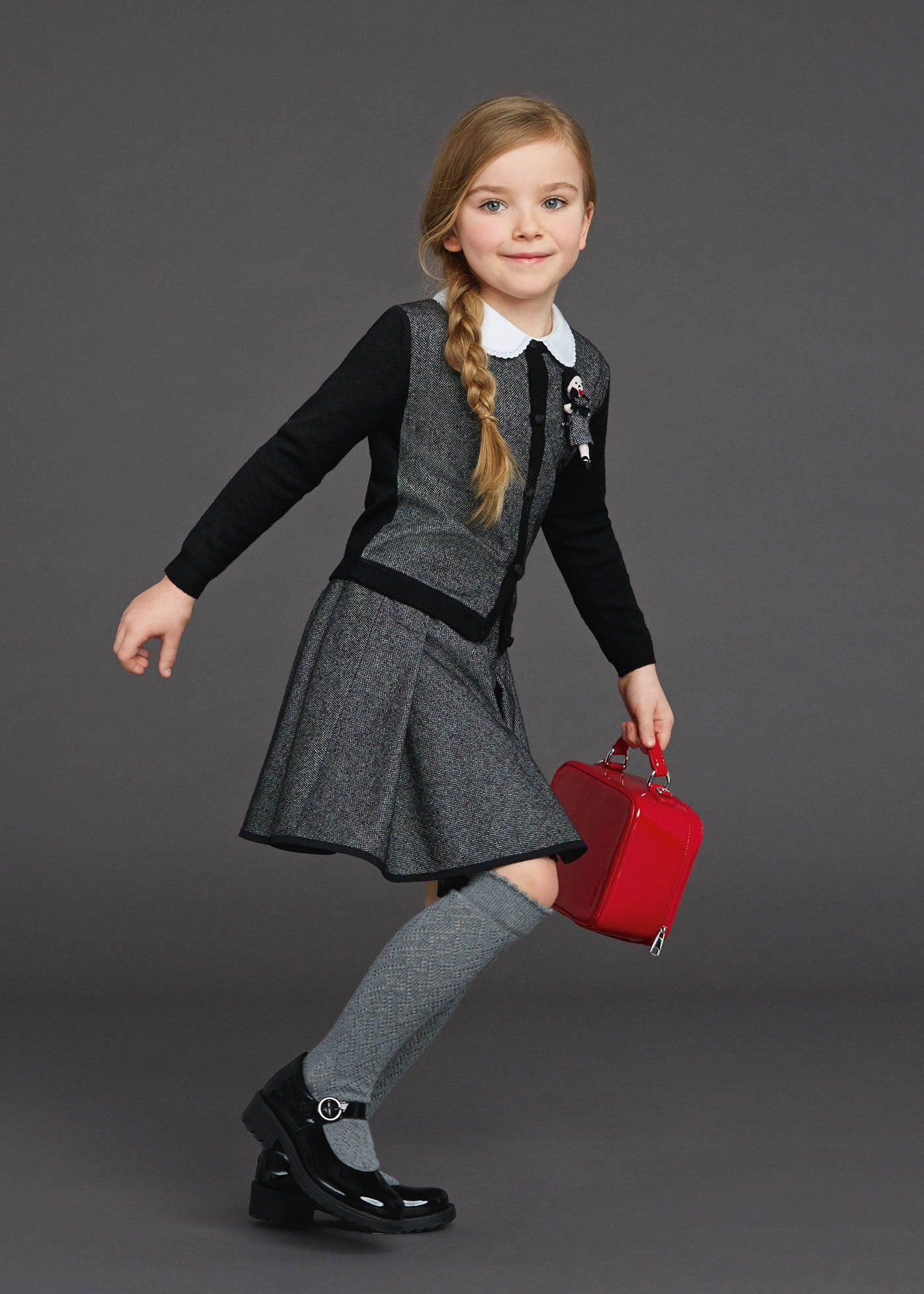 Back To School Dolce & Gabbana Winter 2016 Kids Clothes