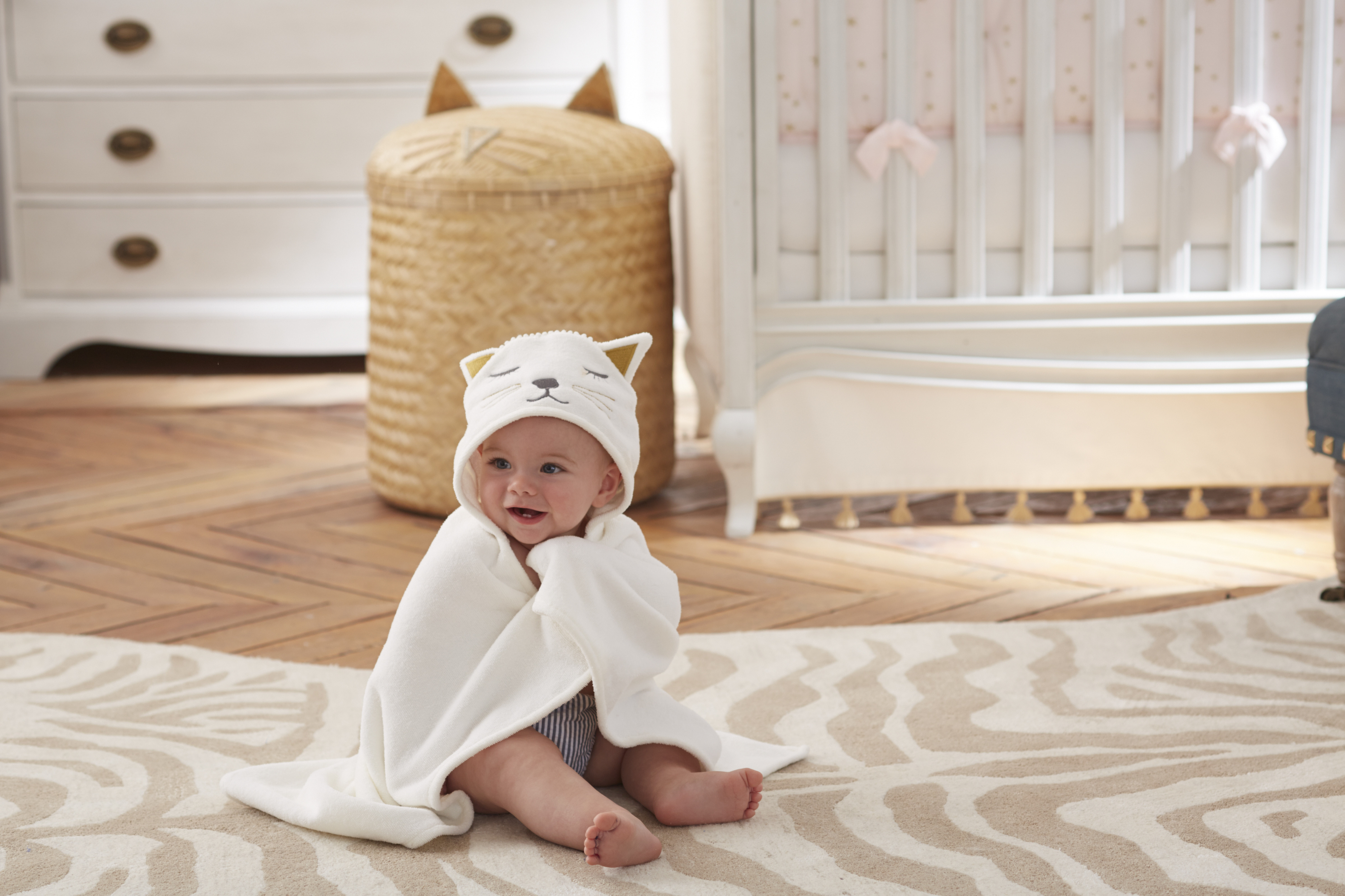 Pottery Barn Kids First Nursery Exclusive Collection