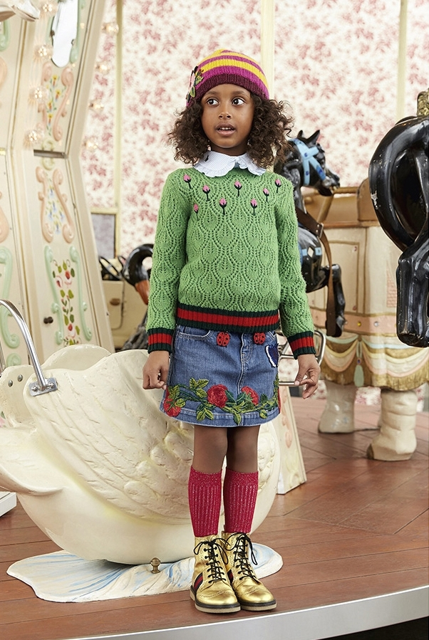 kids clothes greenery style