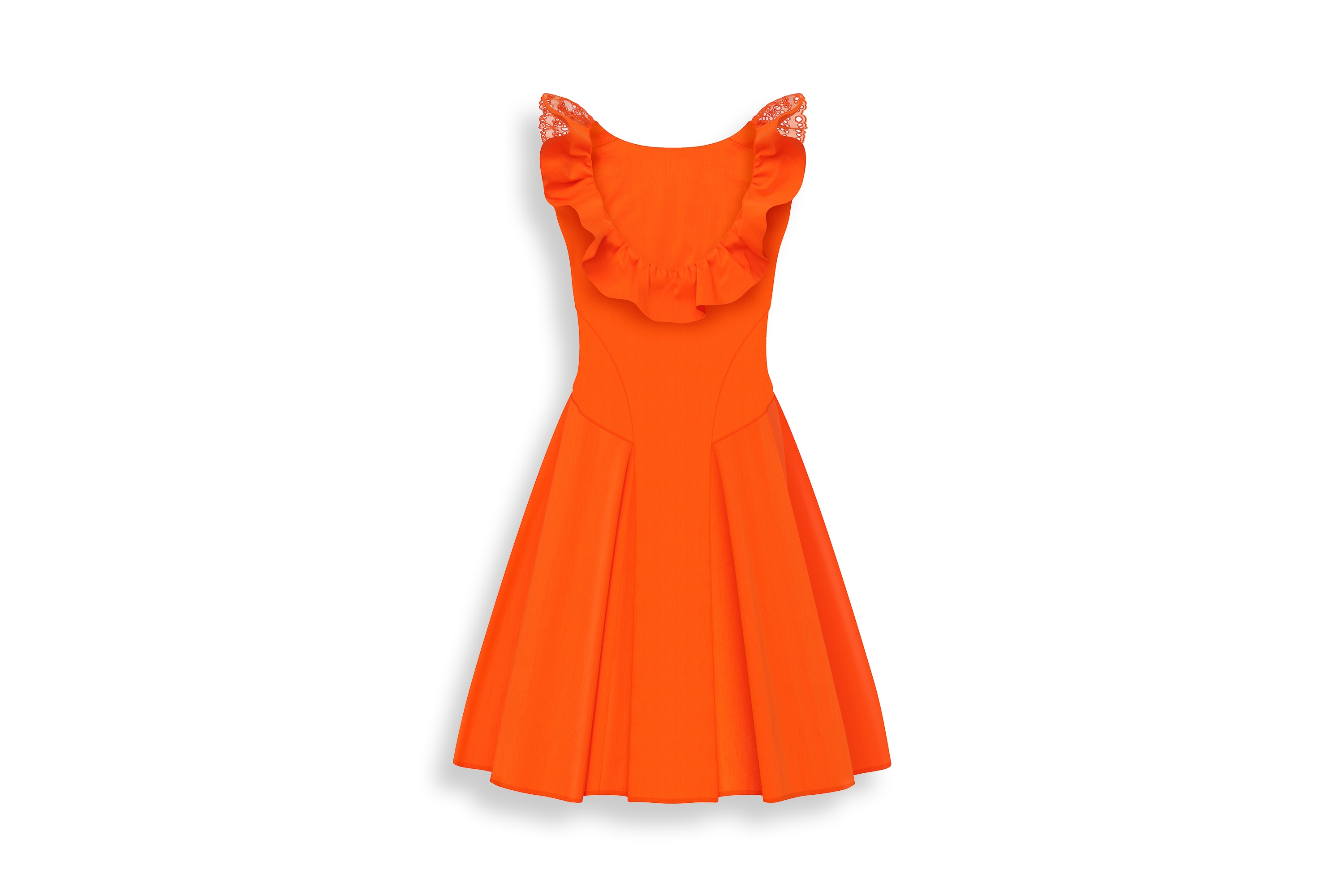 Sunset On The Beach A-line, Baby Dior Girls Dress Sunset On The Beach A-line