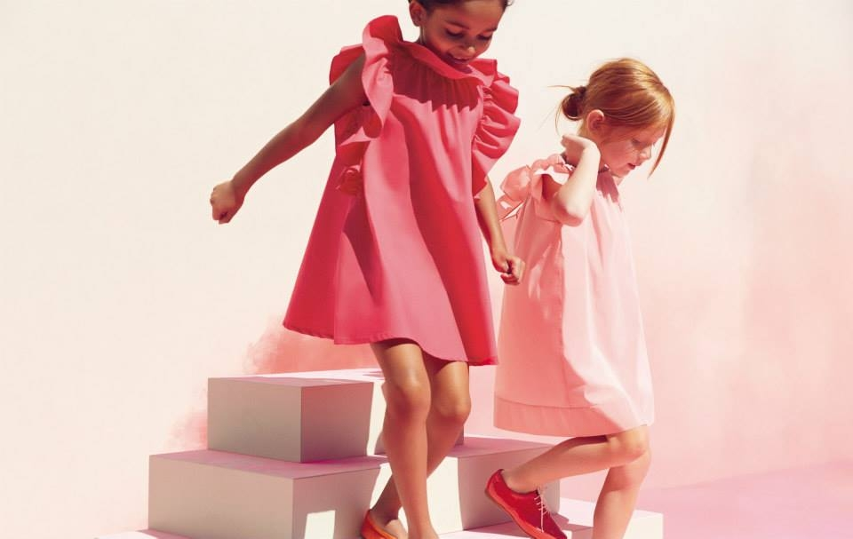 Burberry, Happy Friday! LOVE The Burberry Picot Detail Girls Dress #GirlsDresses #GirlsFashion