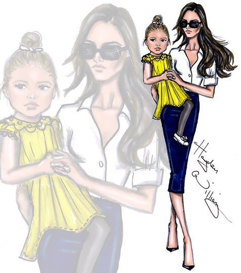 Celebrity Kids By Hayden Williams Illustrations