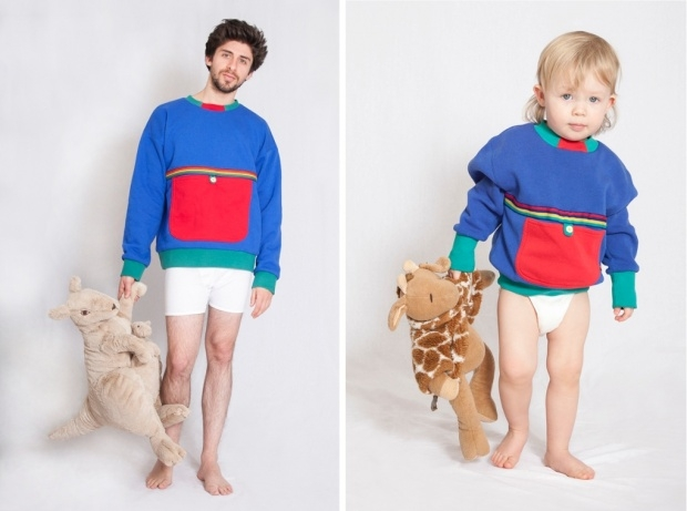 Hot Or Not This Dad Designs Adult Size Baby Clothes