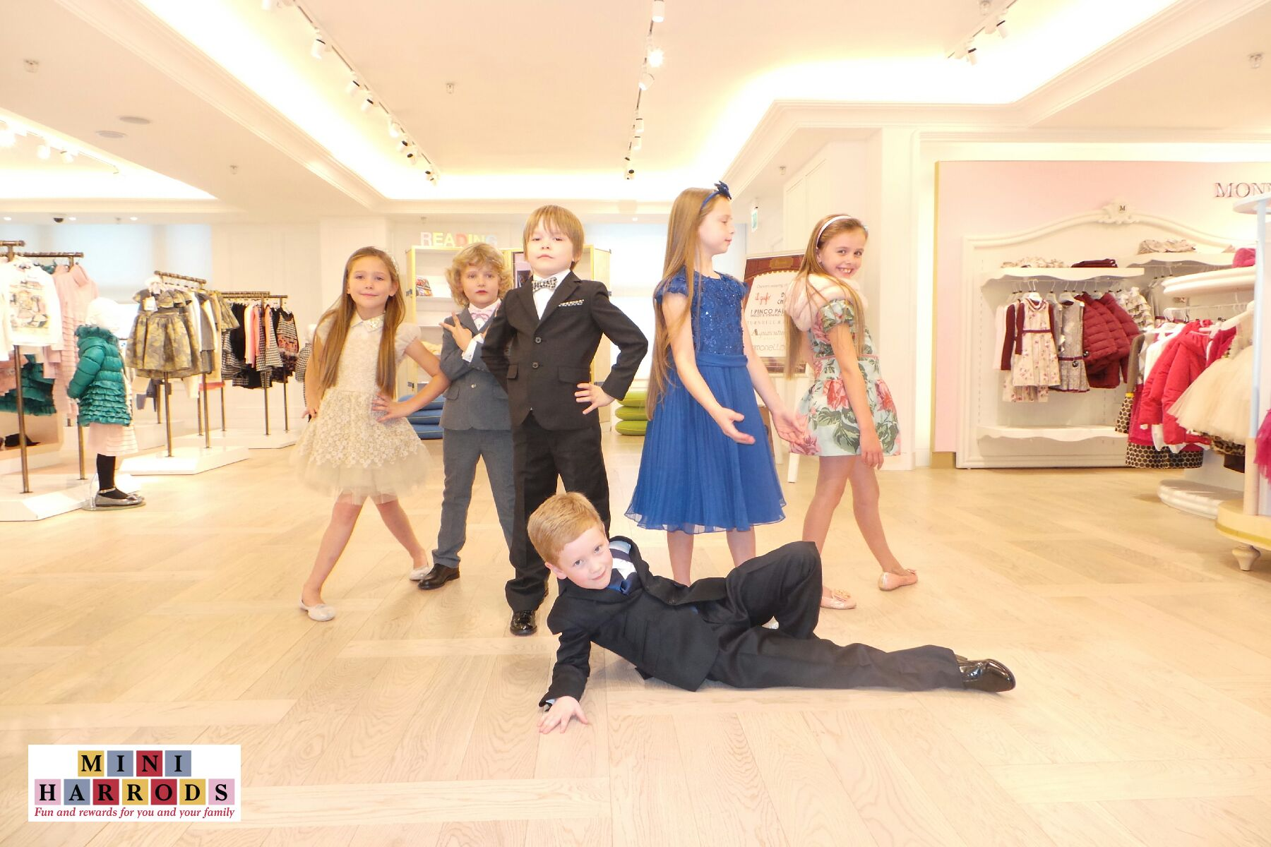 Harrods Elevates Kids Designer Clothes Shopping Experiences