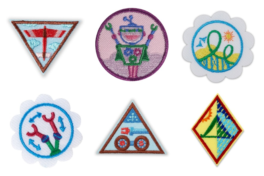 Girl Scouts New STEM Badges CharmPosh 8