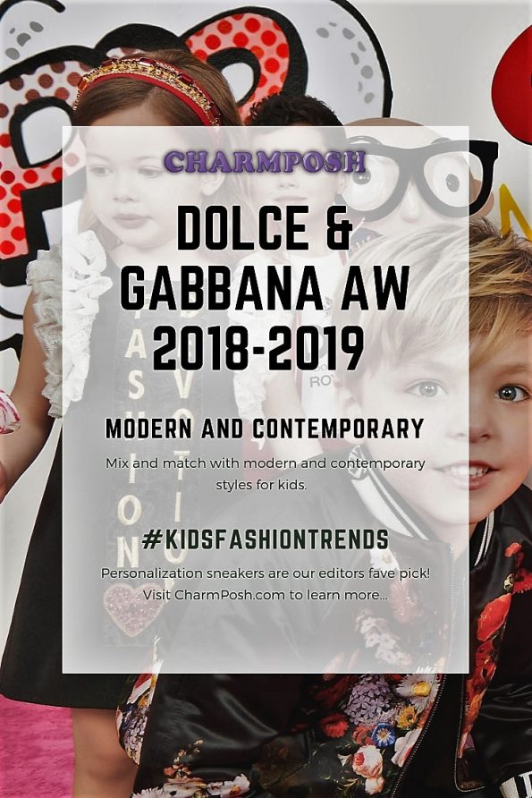 Dolce   Gabbana AW 2018-2019 Kids Modern and Contemporary ... ad17c4d88366