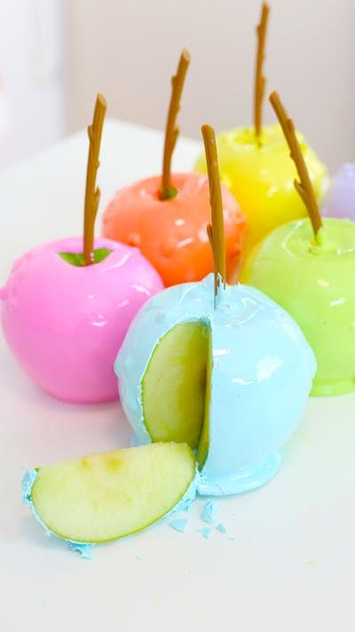 Candy Apples, Candy Apples Get New Color Upgrades For Fall