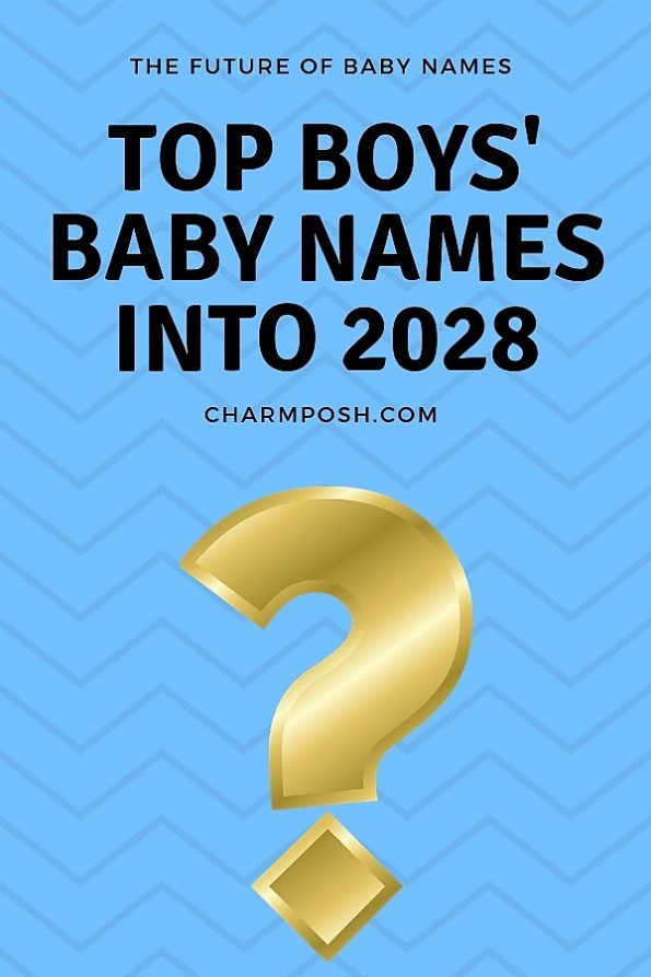 Top Boys' Baby Names Into Future CharmPosh