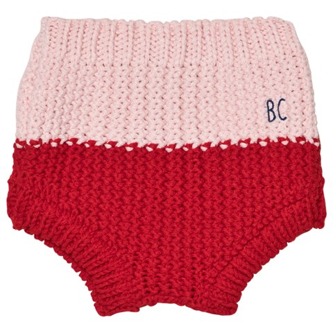 Bobo Choses Baby Briefs in Red and Pink CHARMPOSH