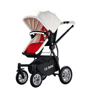 Yunfeng Baby Pushchair Carriage,High-Landscape Folding Suspension Two-Way Children Stroller