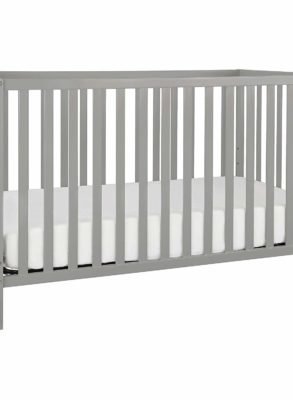 3-in-1 Grey Convertible Crib By Union CharmPosh Baby Cribs