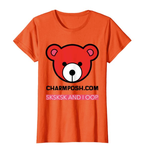 CharmPosh- Designer SKSKSK AND I OOP Collection T-Shirt Collection