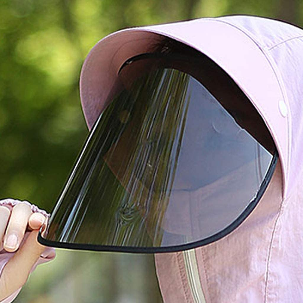 BBesty Protective Face Shield Full Cover Safety Hat CharmPosh 1
